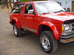 1991 Chevrolet S-10 Blazer - Information and photos - ZombieDrive