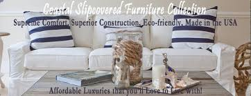 beachy style furniture. Slipcovered Furniture With Coastal Style Beachy R