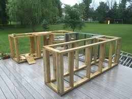 How To Build An Outdoor Kitchen On A Deck What This Guy With No Experience  Built