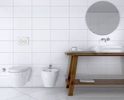 White bathroom tiles Minimal Flat Gloss White Bathroom Wall Tile Tile Giant Bathroom Tiles Tile Giant