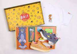 BAIT Exclusive Reebok Tom & Jerry Collection