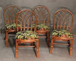 rattan dining chairs furniture. set of 4 rattan dining chairs 1 furniture