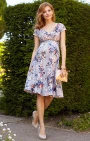 Alessandra Maternity Dress Short Vintage Bloom Maternity Wedding