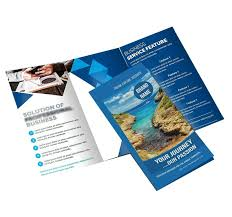 3 Fold Brochure Both Side