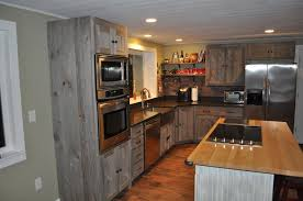 extraordinary gray wood kitchen cabinet weathered barn furniture rustic table floor chair island tile stain grain