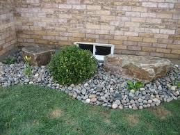 landscaping rocks river rock landscaping for your natural exterior backyard