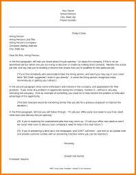 11 Open Application Letter Sample Address Example