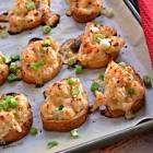 baked shrimp toasts