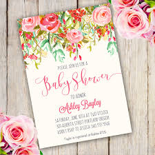 Baby Shower Invitations That Can Be Edited Whimsical Baby Shower Invitation Template Edit With Adobe