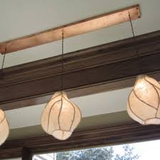 chandelier lighting firefly lantern chandelier copper sculpture and paper lanterns with rectangular copper canopy
