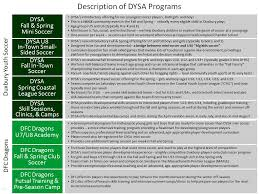 information about our programs