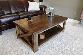 Diy rustic coffee table Table Plans Rustic Coffee Table Ana White Ana White Rustic Coffee Table Diy Projects
