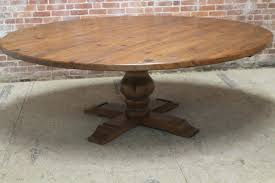 large round kitchen table amazing rustic pine pedestal dining table coma studio in round pine pedestal