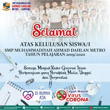 Maybe you would like to learn more about one of these? Kelulusan Siswa Smp Mu Ahmad Dahlan Metro