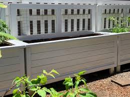 diy raised bed planter box design with