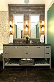 industrial bathroom vanity lighting. Modren Industrial Farmhouse Style Bathroom Vanity Industrial Storage    And Industrial Bathroom Vanity Lighting