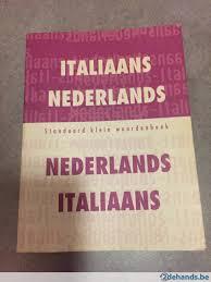 nederlands italiaans woordenboek