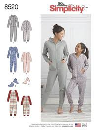 Adult Onesie Pattern