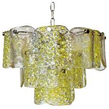 glass panel chandelier replacement