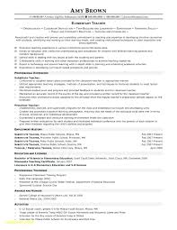 Yoga Teacher Resume Template Little Experience New Dance Teachers