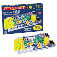 Snap Circuits Light Up Science Kit Elenco Snap Circuits Sound Electronics Discovery Kit