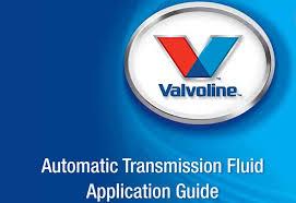 Valvoline Automatic Transmission Fluid Application Guide