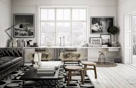 Modern Living Room Black And White Terrific Ideas For Minimalist Living Room Designs With White Color