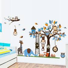 Babykamer Behang Stickers Cool Hous Muur Kamer Kind Muur Sticker