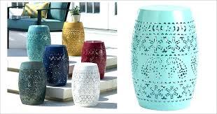 ceramic end table stool garden stool end tables today only metal garden stool accent tables only