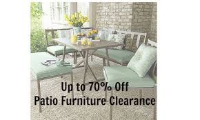 patio furniture clearance 70 off at