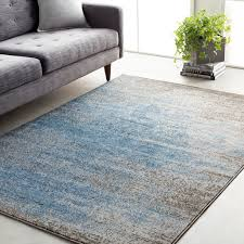 details about addy abstract blue 2 x 3 7 area rug