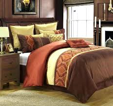 incredible ideas burnt orange comforter sets bedding bright superb king 2 to and