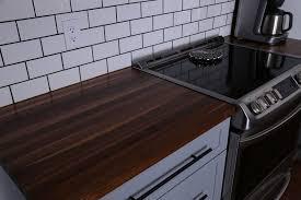 countertops black walnut countertop on best countertops