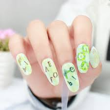 Feather Nail Art Decorations 1pcs Water Transfer Decal Nail ...