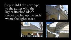 Best Way To Hang Icicle Lights On House How To Hang Icicle Christmas Lights To Your Gutter Inexpensive Quick And Easy