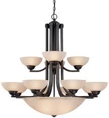 Dolan Lighting Dolan Designs 206 78 Fireside Fifteen Light Chandelier