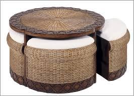 rattan coffee table ottoman beautiful wicker round coffee table round wicker coffee table of wicker of