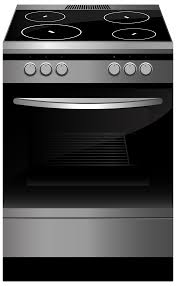 gas stove clipart black and white. black stove png clipart gas and white b