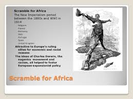 civil war in place of final essay intervention in cochin 11 iuml130151 scramble for africa