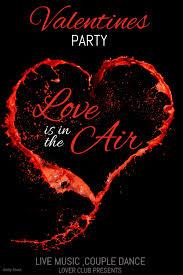 Valentines Flyers Valentine Retail Event Flyers Valentines Template