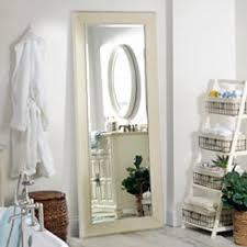 white full length mirror. White Shabby Full Length Mirror, 33.2x79.2 In. Mirror