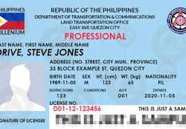 The For License Applying Techcollaborator Lto In Driver's Philippines -