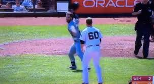 Hunter Strickland Is An American Hero For Beaning Bryce Harper and Landing a Right Cross To Harper's Smug Face, Bryce Harper AKA MLB's & America's Ultimate Doosh.