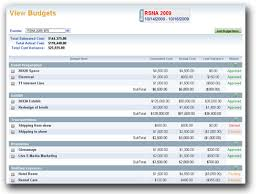 Budgeting For An Event Budget Module Exhibitcore
