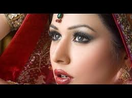 indian stan bridal makeup and hairstyle blue gold tutorial 2016 stani models in bridal makeup 2016 which can give you help in knowing the latest