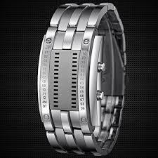Skmei Japan Movts Binary Matrix LED Sports Lovers Wrist Watches ...