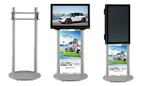 Tv Display Stand For Trade Shows Extraordinary Portable LCD LED TV Stand Exibition Product Trade Show 32 To