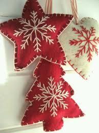 Felt Christmas Ornaments  BuzzmillsChristmas Felt Crafts