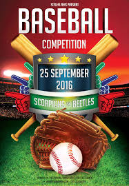 Baseball Brochure Template Baseball Competition Flyer Free Download 3326 Flyer Free