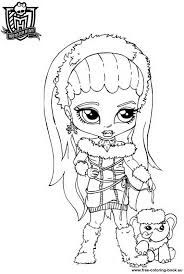 Small Picture Monster High Coloring Pages GetColoringPagescom